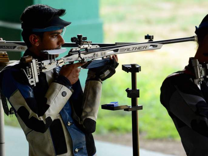 Shooting : Aishwarya Pratap Singh Tomar wins GOLD medal in ISSF Junior World Cup in Germany   शेतकराच्या पोरानं जिंकलं सोनं; 18 वर्षीय ऐश्वर्यची वर्ल्ड रेकॉर्ड कामगिरी