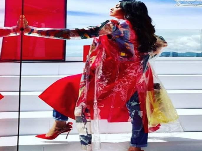 A photo shared by Bollywood 's' glamorous actress; Getting fan favorites   बॉलिवूडच्या 'या' ग्लॅमरस अभिनेत्रीने शेअर केला फोटो; मिळतेय चाहत्यांची पसंती