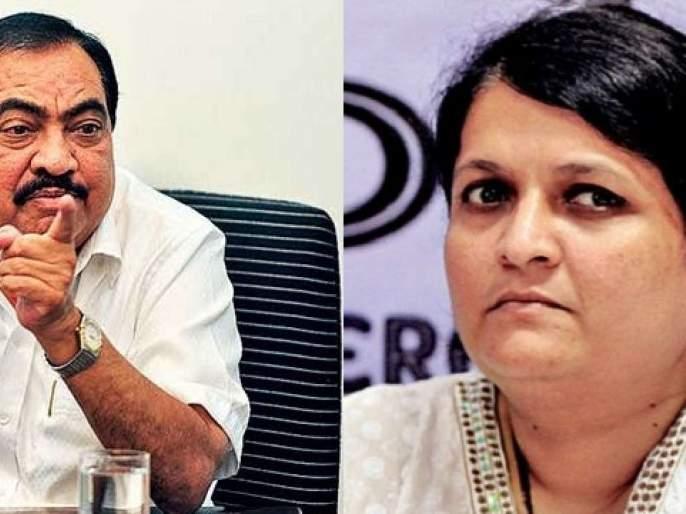 anjali Damania got angry at Eknath Khadse's accusation in jalgaon   तळपायाची आग मस्तकात गेली, खडसेंच्या आरोपावर अंजली दमानिया संतापल्या