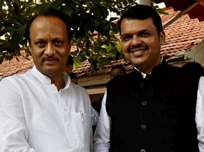 Maharashtra Budget 2021 bjp leader devendra fadnavis smiles after bjp mlas gives slogans about baramati | Maharashtra Budget 2021: भाजप आमदारांच्या घोषणा अन् बारामती कनेक्शन; फडणवीसांना हसू अनावर
