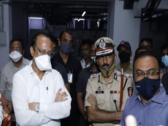 The fire in 'Siram' will be checked by various state government agencies: Ajit Pawar | 'सिरम'मधील आगीच्या घटनेची राज्य सरकारच्या विविध यंत्रणांमार्फत शहानिशा करणार : अजित पवार