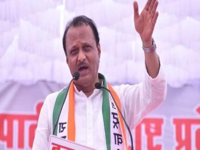 Budgets split from Shiv Sena-BJP's credit; Ajit Pawar's serious charge | शिवसेना-भाजपच्या श्रेयवादातून अर्थसंकल्प फुटला ; अजित पवारांचा गंभीर आरोप