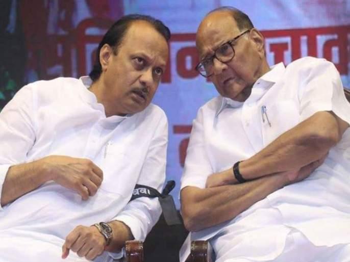 ajit pawar defends parth pawar in front of ncp chief sharad pawar | 'पार्थ'वरून महाभारत! अजित पवारांनी घेतली मुलाची बाजू; शरद पवारांना म्हणाले...