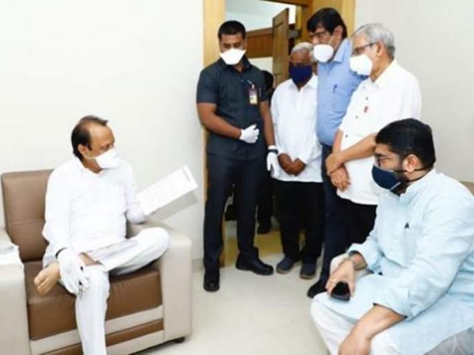 MLA Shivendra Raje Bhosale met Deputy Chief Minister Ajit Pawar in Baramati | आमदार शिवेंद्रराजे भोसले बारामतीत, उपमुख्यमंत्री अजित पवारांची घेतली भेट