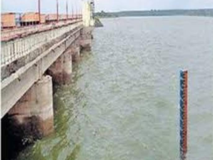 There was no rain; But the water increased by one percent! | पाऊस नव्हता; पण वाढले एक टक्का पाणी!