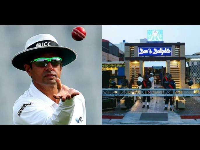 Pakistani umpire Aleem Dar's restaurant in Lahore to offer free food to unemployed amid coronavirus crisis svg | पाकिस्तानी अंपायरचं मन बघा; कोरोनाच्या पार्श्वभूमीवर बेरोजगारांना स्वतःच्या हॉटेलमध्ये देतोय मोफत जेवण