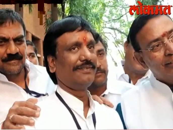 Congress' 'invisible' votes cast wonders for me, Ambadas danawey says after victory in vidhan parishad election | Video : काँग्रेसच्या 'अदृश्य' मतांचा चमत्कार, महायुतीच्या दानवेंसाठी उघडलं विधानपरिषदेचं दार