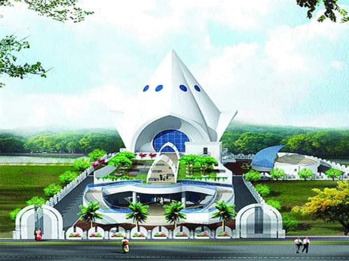 Prepare the decorative proposal of Ambedkar Memorial in Navi Mumbai | नवी मुंबईतल्या आंबेडकर स्मारकाच्या सजावटीचा प्रस्ताव तयार