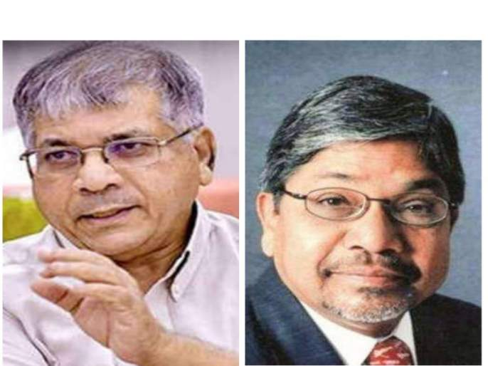 Prakash Ambedkar did not want to do alliance even after being offered as CM | मुख्यमंत्रीपदाची ऑफर दिली तरी प्रकाश आंबेडकरांना आघाडी करायची नव्हतीच : भालचंद्र मुणगेकर