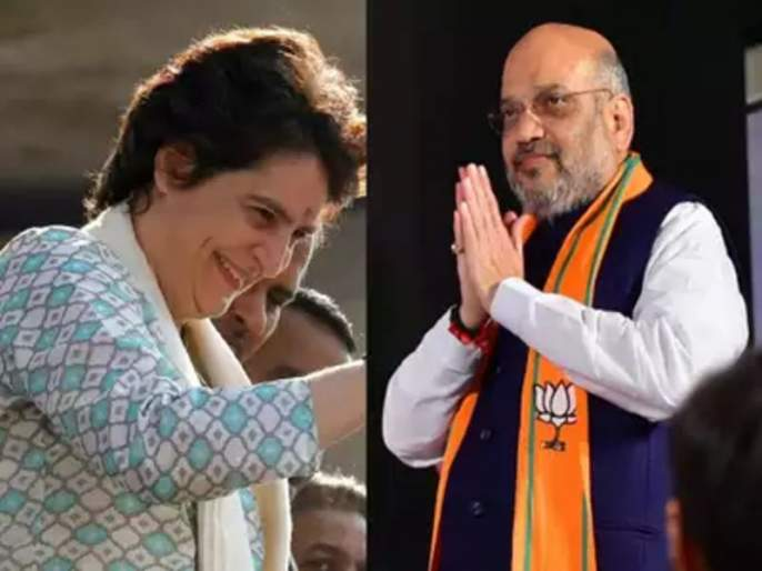 rahul gandhi is unmarried that is why priyanka is entering politics now says bjp president amit shah | राहुल गांधींनी लग्न न केल्यामुळेच प्रियंका राजकारणात, अमित शहांचं गांधी घराण्यावर टीकास्त्र