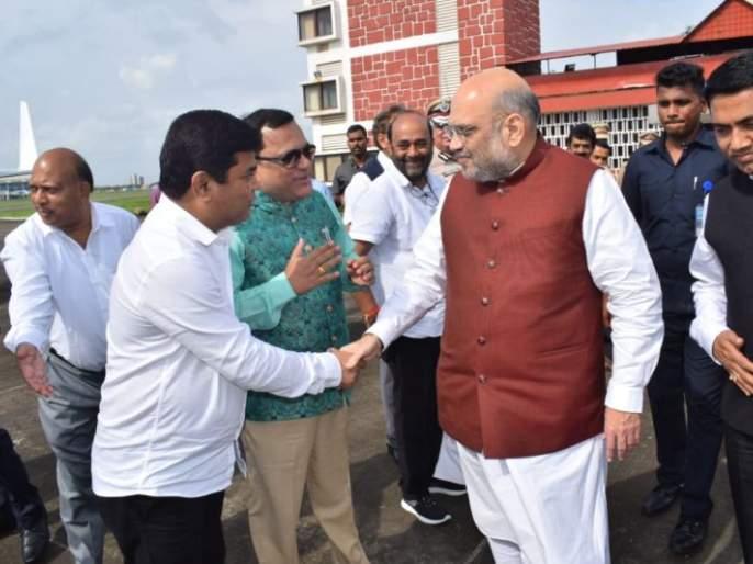 Amit Shah reviews BJP member registration in Goa   गोव्यात भाजपच्या सदस्य नोंदणीचा अमित शहा यांनी घेतला आढावा
