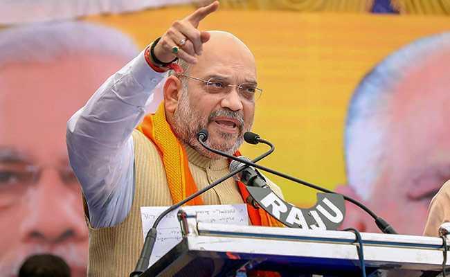 Maharashtra Election 2019: If they kill one, we'll kill 10 - Amit Shah | Maharashtra Election 2019: ...त्यांनी एक मारला, तर आम्ही १० मारू; अमित शहा यांनी पाकिस्तानला ठणकावले