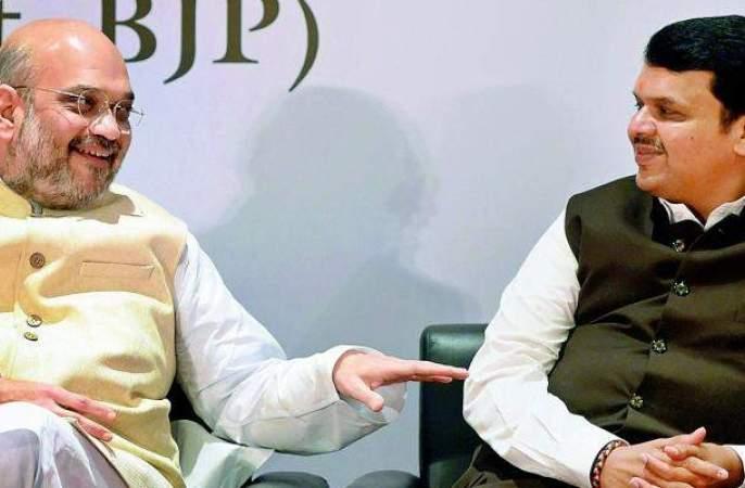 Maharashtra Vidhan Sabha 2019 : Devendra Fadnavis will be next Chief Minister of Maharashtra, clear signal of Amit Shah | Vidhan Sabha 2019 : विधानसभा निवडणुकीनंतरही देवेंद्र फडणवीसच मुख्यमंत्री, अमित शहांचे स्पष्ट संकेत
