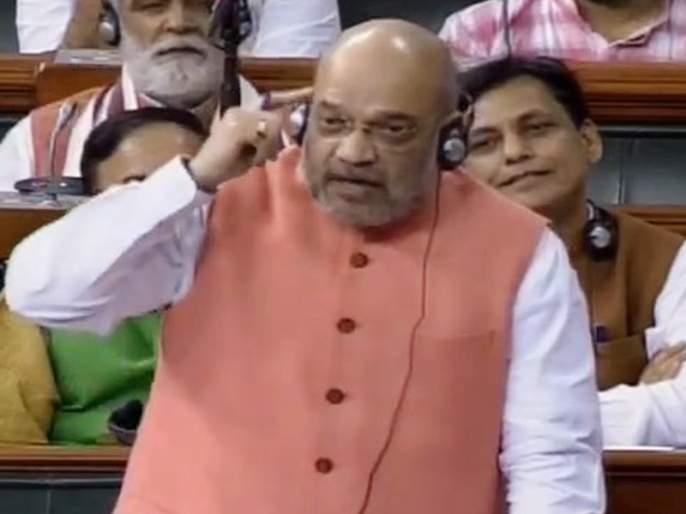 Jammu and Kashmir: We will not talk to hurriyat leaders at all; Amit Shah on Article 370 in lok sabha | Jammu and Kashmir: 'कुणाशी चर्चा करायची?, पाकधार्जिण्यांशी का?; अमित शहांचा सुप्रिया सुळेंना सवाल
