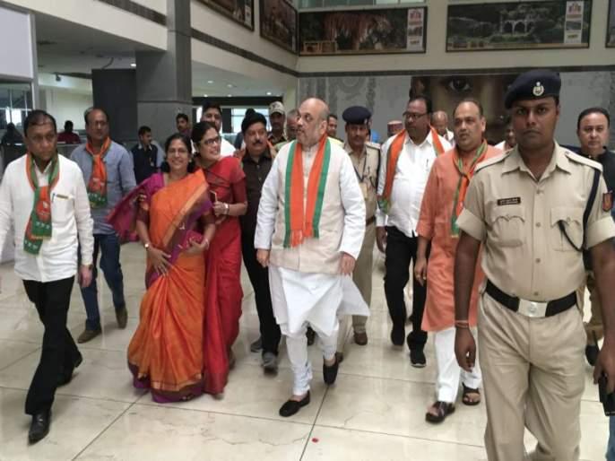 Amit Shah in Nagpur, will meet RSS Chief Mohan Bhagwat | अमित शहा संघभूमीत, सरसंघचालकांची घेणार भेट