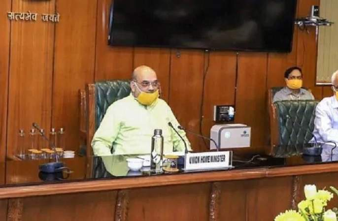 Home Minister Amit Shah spoke to Chief Ministers to get their views on Coronavirus Lockdown rkp | लॉकडाऊन-5 लागू होणार? अमित शाहांची सर्व मुख्यमंत्र्यांसोबत बैठक