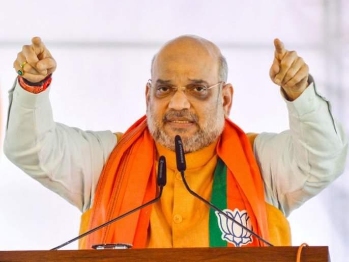 will build sky high ram mandir in ayodhya in 4 months says bjp president amit shah   चार महिन्यांत अयोध्येत गगनचुंबी राम मंदिर उभारू; अमित शहांचं मोठं विधान