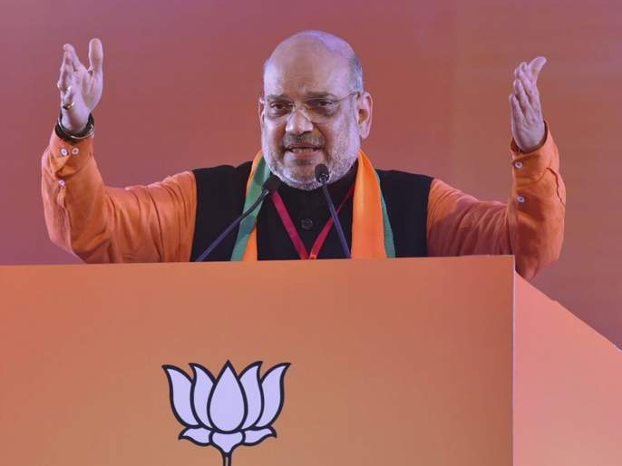 Gandhinagar Lok Sabha election results: gujarat counting of votes on gandhinagar lok sabha seat bjp president amit shah leading in trends | गांधीनगर लोकसभा निवडणूक निकाल: अमित शाहांनी तोडला लालकृष्ण अडवाणींचा रेकॉर्ड