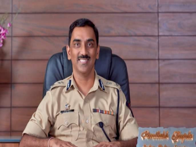 """I proposed but ..."" Pune Police Commissioner's 'special' answer to the youth's question | ""मी प्रपोज केला पण.."" ; तरुणाच्या भन्नाट प्रश्नावर पुणे पोलीस आयुक्तांचे 'खास' उत्तर"