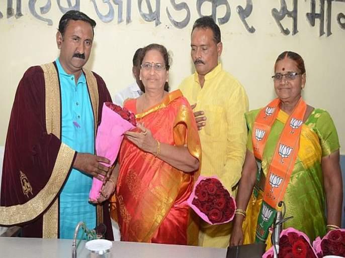 BJP's position as mayor and Deputy Mayor of Amravati, | अमरावतीचे महापौर, उपमहापौरपदी भाजपाची बाजी