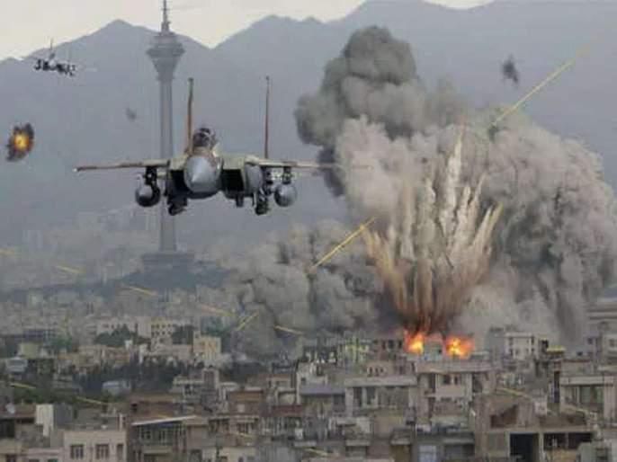US strikes air strikes on Iraq, 36,000 kg of bombs on ISIS place | अमेरिकेचा इराकवर 'एअर स्ट्राईक', 36 हजार किलोंचे बॉम्ब टाकले