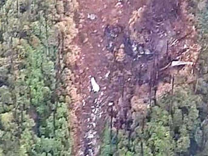 All 13 bodies and black box of indian air force AN 32 transport aircraft recovered | हवाई दलाच्या अपघातग्रस्त विमानातील १३ जणांचे मृतदेह, ब्लॅकबॉक्स सापडला