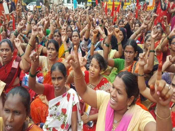 Anganwadi worker will be beaten in the ministry in June | अंगणवाडी सेविका जून महिन्यात धडकणार मंत्रालयात