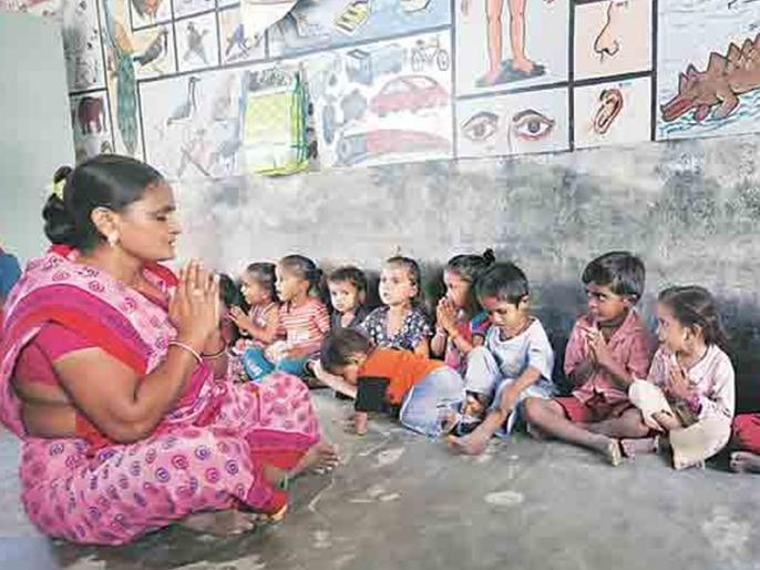 ेक High-tech, Anganwada will be funded through district planning | ९९ अंगणवाड्या होणार हायटेक, जिल्हा नियोजनमधून निधी मंजूर
