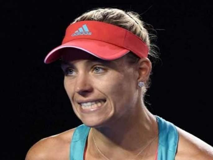 French Open Tennis: Due to the challenge of the Kerber   फ्रेंच ओपन टेनिस : कर्बरचे आव्हान संपुष्टात