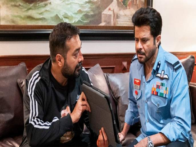 indian air force lashes out at actor anil kapoor for wrongly wear the iaf uniform and using inappropriate language | वर्दी घालून अनिल कपूरने ओलांडली 'सीमा'; भारतीय हवाई दल म्हणाले, सीन डिलीट करा
