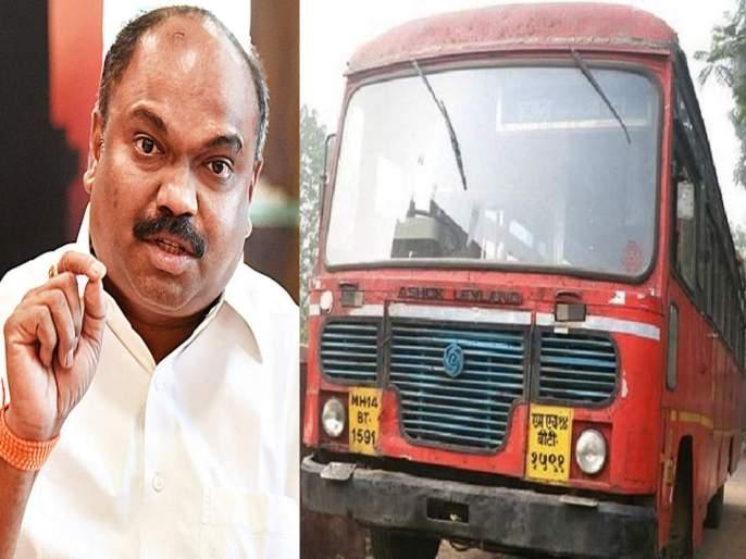 maharashtra lockdown anil parab says that st bus will run only for essential services | Maharashtra Lockdown: एसटी बस आता केवळ अत्यावश्यक सेवेसाठीच; अनिल परब यांनी केले स्पष्ट