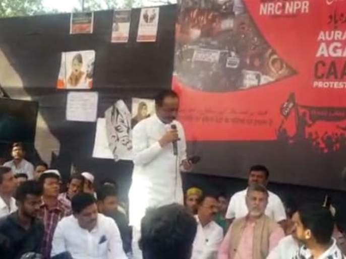 Congress leader Anil Patel criticizes BJP | पाण्यासाठी भाजपचे आंदोलन म्हणजे 'मगरीचे अश्रू' : अनिल पटेल