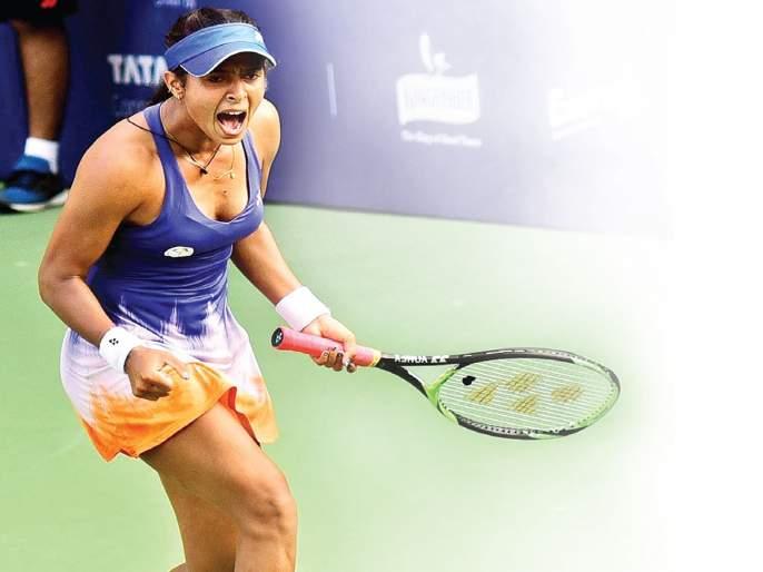 Ankita Raina's Stosurala Dang   अंकिता रैनाचा स्टोसूरला दणका
