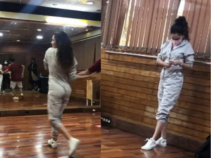 Ankita Lokhande reharsal video for arward show where she will pay tribute to Sushnt Singh Rajput | VIDEO: अंकिता लोखंडेने सुशांतच्या आठवणीत केला डान्स, म्हणाली - माझ्याकडून तुझ्यासाठी...
