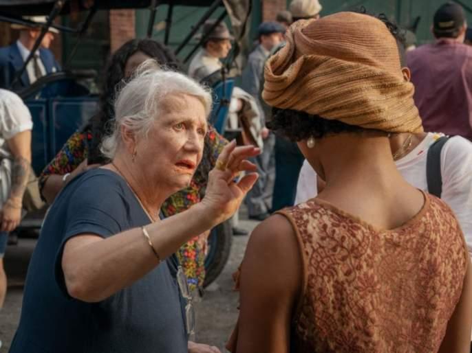 Oscars 2021: 89 year old grandmother Ann Roth wins Oscar ...Ann Roth is now the oldest woman to win a competitive Oscar | Oscars 2021 : ८९ वर्षांच्या आजीबाई अन ऑस्कर...Ann roth यांनी केली कमाल