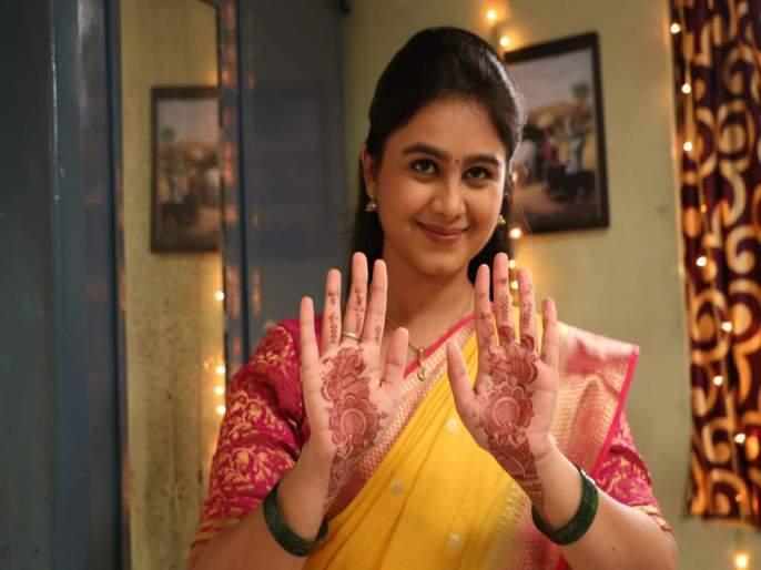 Sukhachya Sarini He Man Baware Anu Siddhartha's wedding Ceremony will take place in the series | मालिकेत रंगणार अनु सिद्धार्थचा विवाह सोहळा, अनुच्या मेहंदीचे फोटो आले समोर
