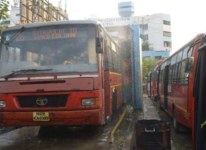 90 buses to run in Nagpur from Wednesday: Most buses on Butibori, Hingana route   नागपुरातपाच मार्गावर धावणार फक्त ४० बस: बुटीबोरी, हिंगणा मार्गावर सर्वाधिक बस