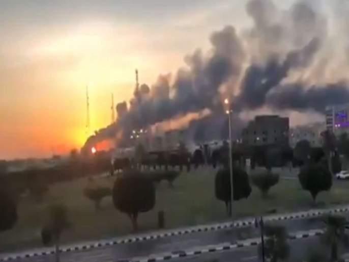Drone attacks on refineries of Aramco Oil Company in Saudi Arabia | सौदीत अग्निकल्लोळ; सर्वात मोठ्या तेल कंपनीवर ड्रोन हल्ला