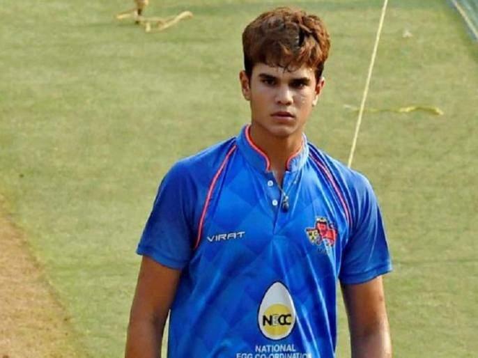 Arjun Tendulkar give 16 runs in over in T20 Mumbai | अर्जुन तेंडुलकरची झाली धुलाई, दुसरं षटक देण्याचं धाडस कर्णधाराला झालंच नाही
