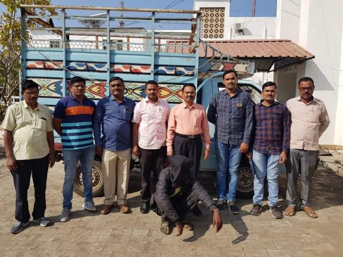 Arrested by a local crime branch for stealing bulls from Palashi Shivar | पळशी शिवारातून बैलजोडी चोरणाऱ्यास स्थानिक गुन्हेशाखेकडून अटक