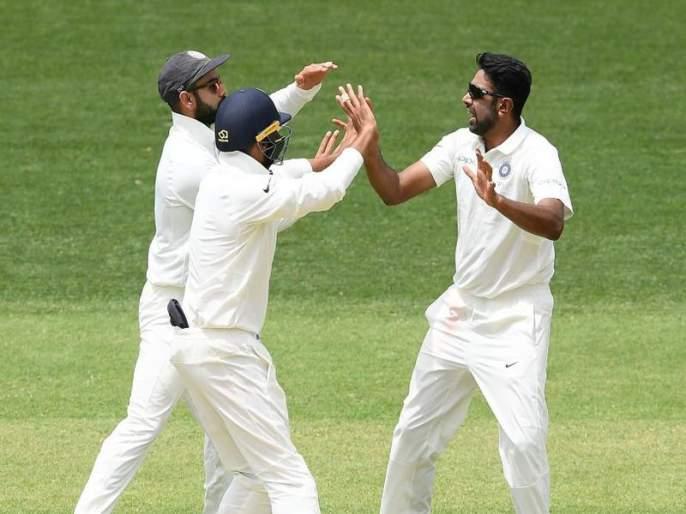 IND vs AUS 1st Test : shaun marsh out on single digit score breaks 130 years old record in adelaide test vs india | IND vs AUS 1st Test : अश्विनच्या गोलंदाजीवर मार्श झाला बोल्ड आणि १३० वर्षांपूर्वीचा विक्रम मोडीत निघाला