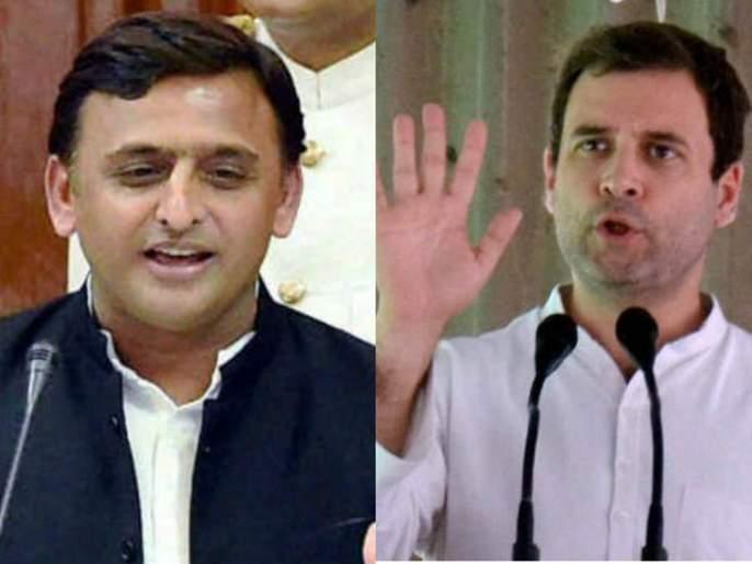 lok sabha election 2019 akhilesh yadav on Congress | 'तीन राज्यातील विजयोत्सवात लोकसभेसाठी काँग्रेसला पडला युतीचा विसर'