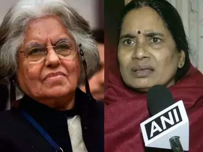 advocate indira jaising urges nirbhayas mother to follow sonia gandhis example forgive convicts | निर्भयाच्या आईनं दोषींना माफ करावं, ज्येष्ठ वकिलाचा अजब सल्ला