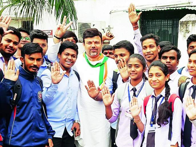 Maharashtra Assembly Election 2019: Emphasis on improving living standards of Nagpur: Ashish Deshmukh | Maharashtra Assembly Election 2019 : नागपूरकरांचे राहणीमान सुधारण्यावर भर देणार: आशिष देशमुख