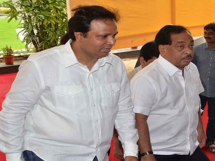 Narayantra kun karar ?, the candidate goes down to the 'Swabhimaan'; BJP's secret support? | नारायणस्त्राचे कुणावर प्रहार?, उमेदवार उतरवून जपला 'स्वाभिमान'; भाजपाचा छुपा पाठिंबा?