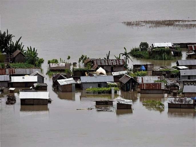 Flood waters maroon 29 districts in Assam, death toll rises to 28 | Assam Floods : आसामला पुराचा तडाखा, 28 जणांचा मृत्यू