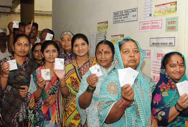 Until three o'clock in the afternoon, 89% of the vote was registered in Solapur district | दुपारी तीन वाजेपर्यंत सोलापूर जिल्ह्यात झाले ४३.५१ टक्के मतदान