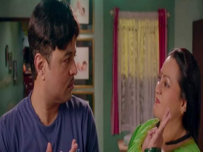 Agadbam Marathi Movie Atak Matak Song Hit On Social Media | अगडबम नाजुकाचे 'अटकमटक' गाणे प्रदर्शित, सोशल मीडियावर हिट