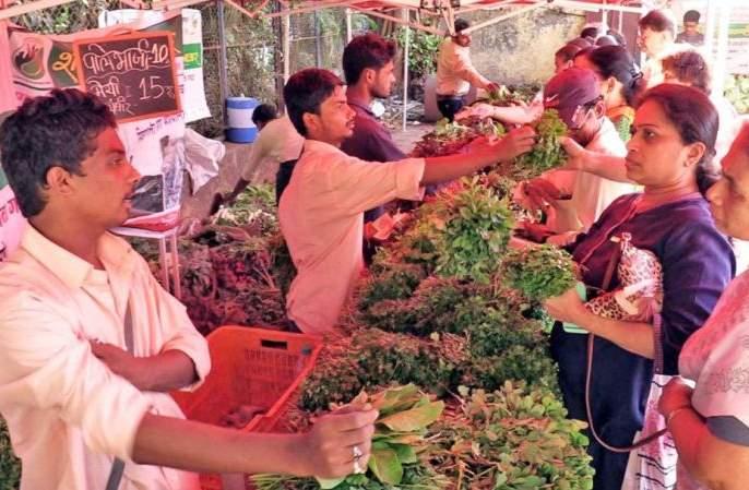 Farmers should come directly to the city and sell vegetables; Tukaram Mundhe's appeal   शेतकऱ्यांनी थेट शहरात येऊन भाजीपाला विकावा; तुकाराम मुंढे यांचे आवाहन