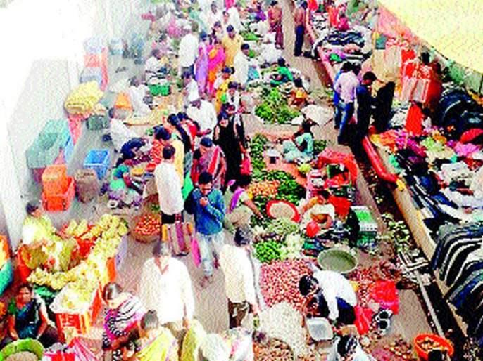 The heel of the administration on the weekly market in the taluka including Shirdi | शिर्डीसह तालुक्यातील आठवडे बाजारावर प्रशासनाची टाच